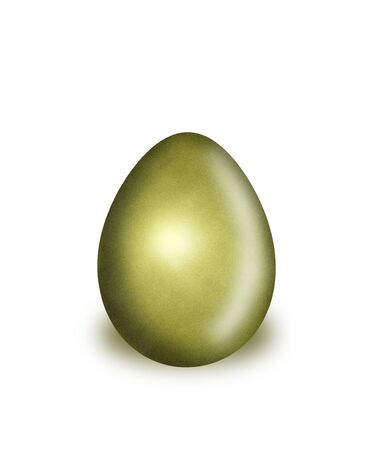 Easter egg is a symbol of the spring Christian festival.  Reklamní fotografie