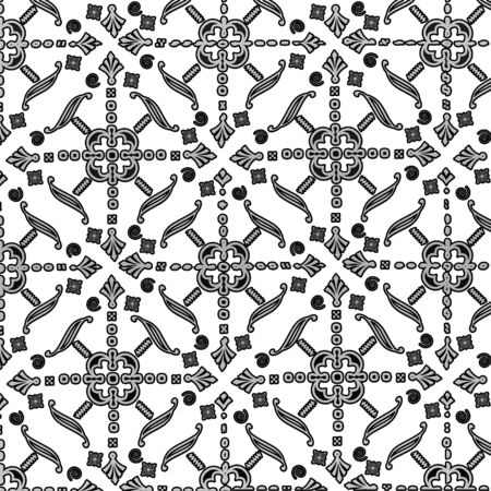 An abstract ornament background. Art illustration.