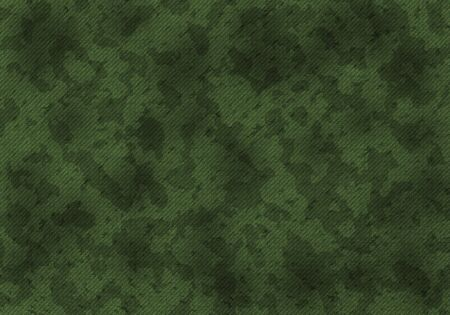 to conceal: A military khaki camouflage pattern. Art illustration