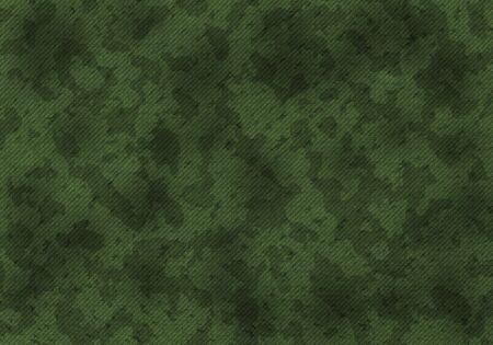 A military khaki camouflage pattern. Art illustration