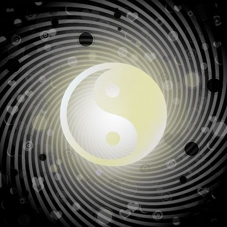 chinese philosophy: Yin yang as an oriental symbol of duality.