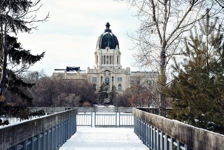 regina: The Legislative Assembly of Saskatchewan in Regina city