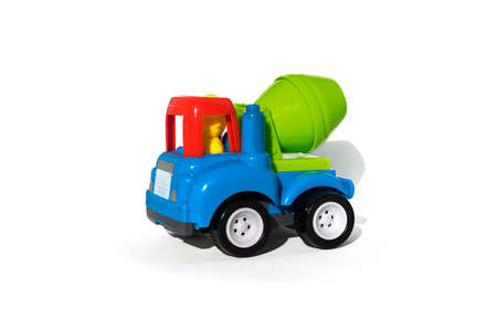 toy car isolated on white Stock Photo