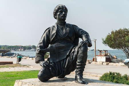 folk dancer statue