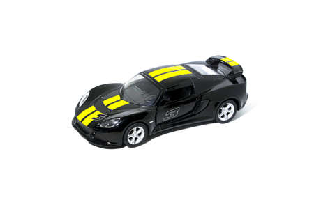 toy car isolated on White