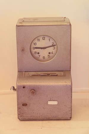 Old type counter Banco de Imagens