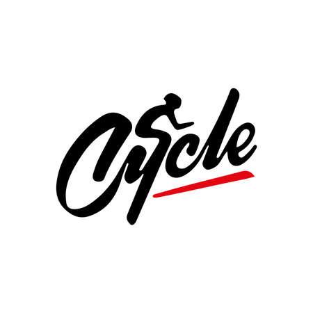 Cycle vector logo design