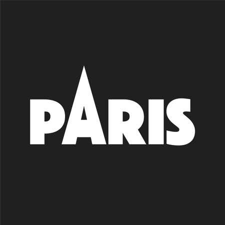 Paris vector illustration design