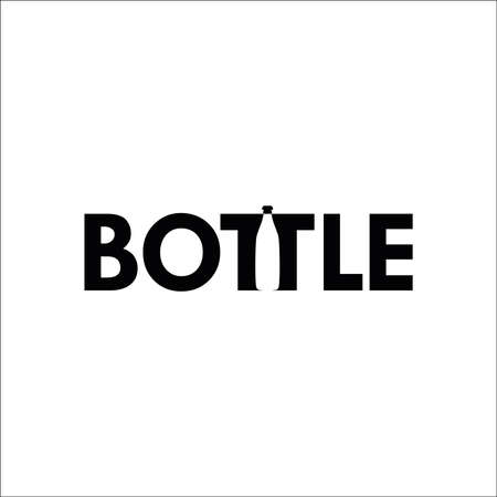 bottle vector design Ilustracja