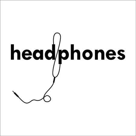 Headphones vector design