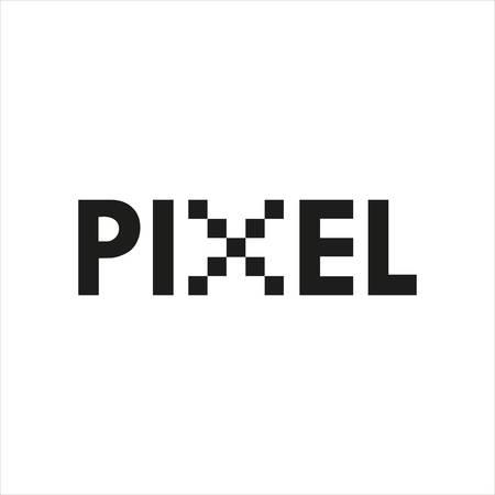 Pixel Vector Design Ilustração