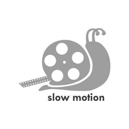 Slow Motion  Template Иллюстрация