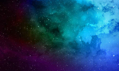 Deep space abstract design