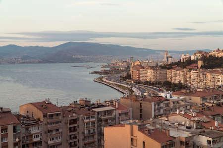 skyline of the izmir gulf