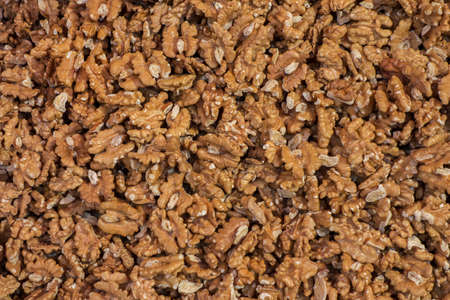 The nuts. The crushed Walnut