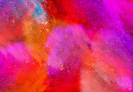 The colorful background, dust explosion 写真素材 - 137577818