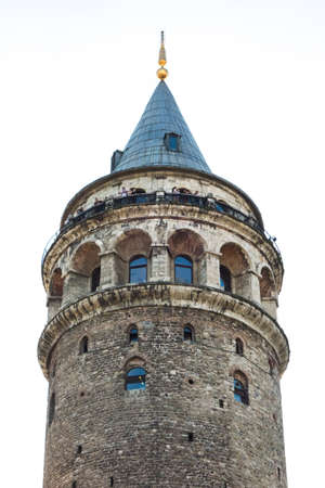 Historic galata tower in Istanbul