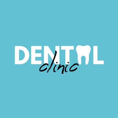 Dental Clinic Logo Design 写真素材 - 138589130