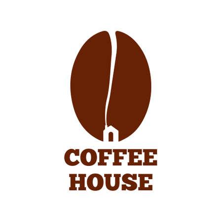 Coffee house logo vector design
