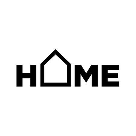 Home logo vector design 写真素材 - 143663945