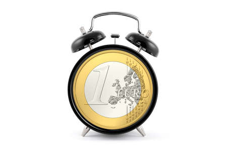 Euro and time advertising image