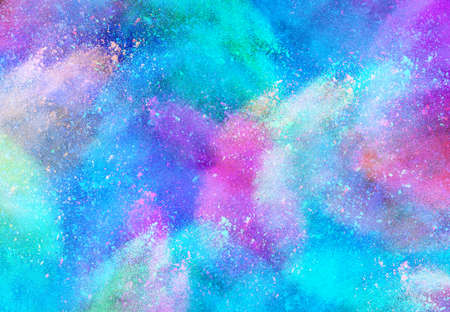 The colorful background, color powder