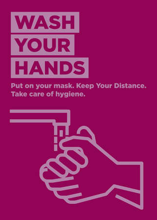 Wash your Hands Ready Poster