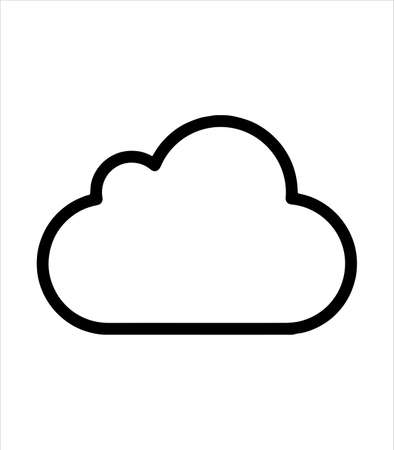 cloud icon and cloud technology