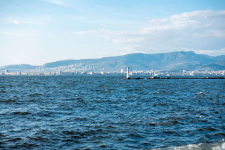 view of izmir gulf