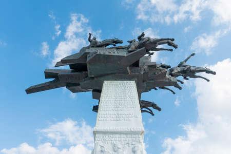 The Ataturk square and statue Editorial