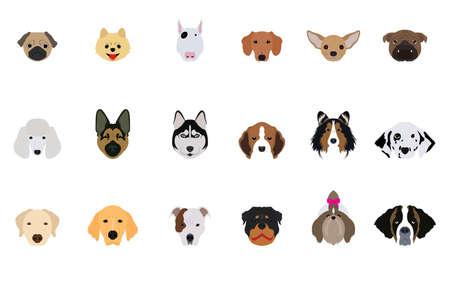 beagle puppy: Conjunto de Jefe Perros