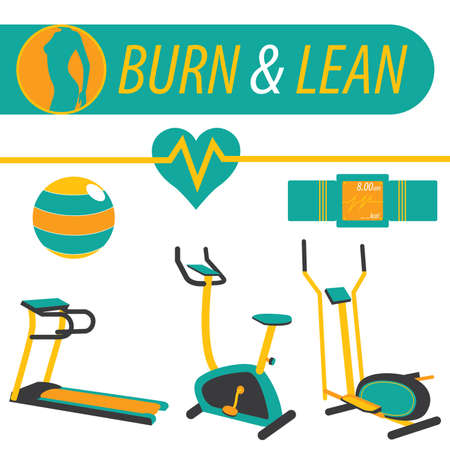 lean machine: Fitness Burn and Lean Workout