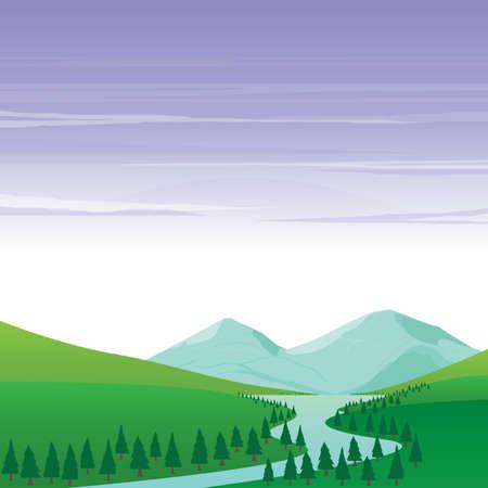 Naturaleza y Paisaje Montaña Lago