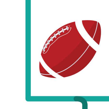 football ball: American Football Field Goal
