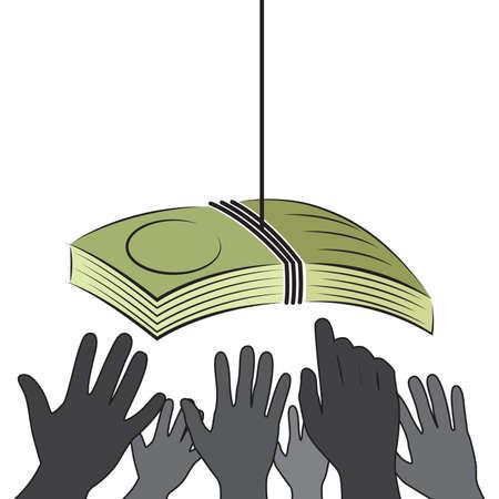 business metaphor: Money Bait and Lure Business Metaphor