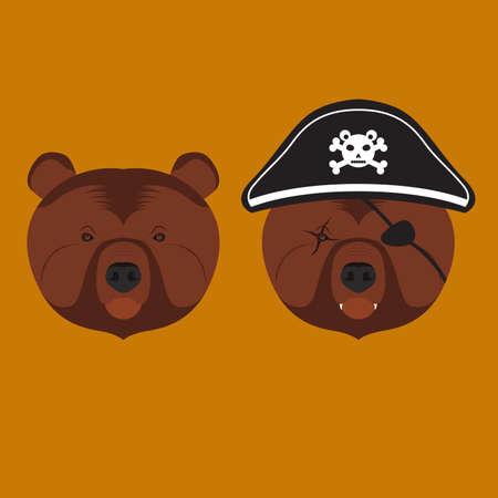scar: Grizzly Bear Head