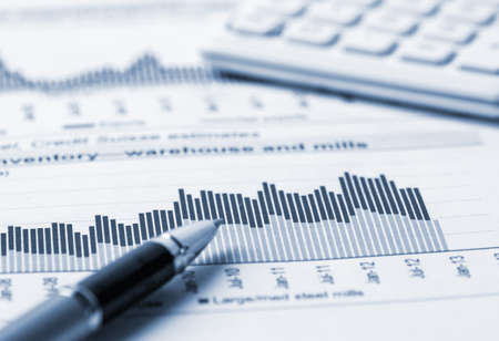 financial accounting analysis Standard-Bild
