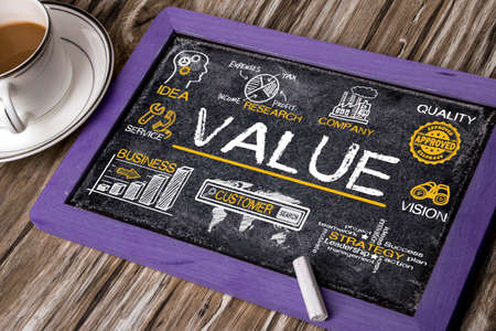 value concept with business elements