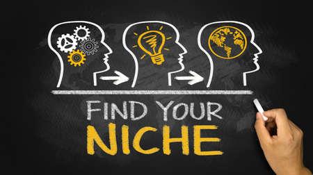 niche: find your niche concept on blackboard