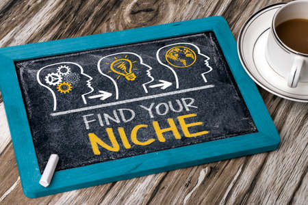 niche: find your niche concept on blackboard