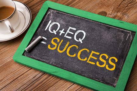 eq: IQ plus EQ equal success