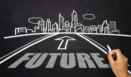 l'avenir sur la route