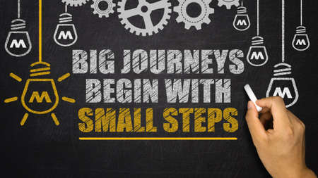 big journey begin with small steps