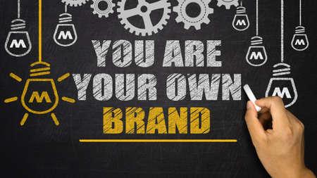 Vous êtes votre propre marque