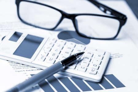 analyse comptabilité financière notion Banque d'images