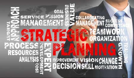 planificacion estrategica: planificación estratégica concepto de nube de palabras