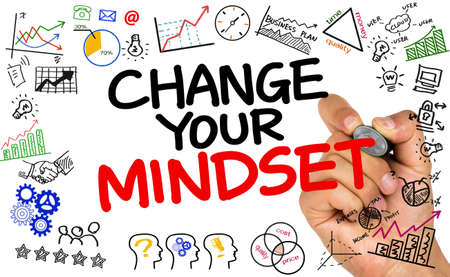 mindset: change your mindset concept