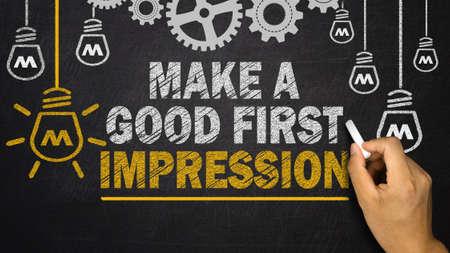 judgement day: Make a Good First Impression