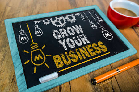 grow your business 版權商用圖片