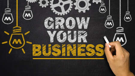 grow your business Reklamní fotografie